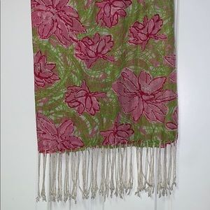 Lilly Pulitzer Breast CancerAwareness Murfee Scarf